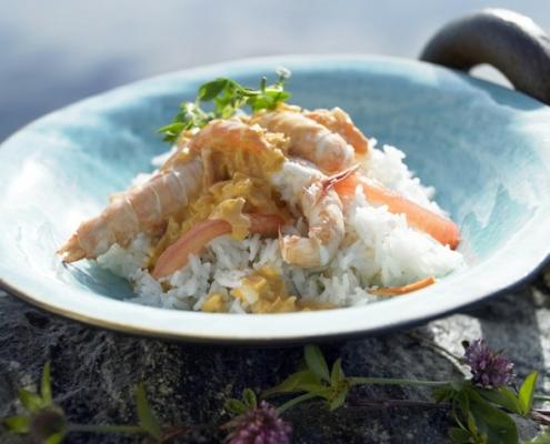 förälskade havskräftor recept